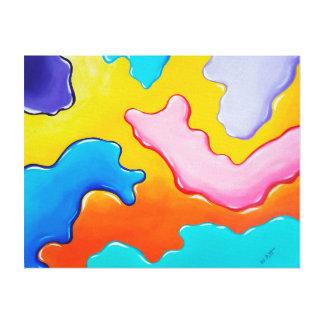 Live Paint Canvas Print