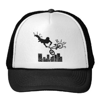 Live, Ride, Freestyle Hat