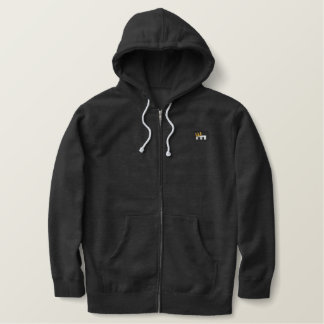 Live. Ride. Moto! Embroidered Hoodie