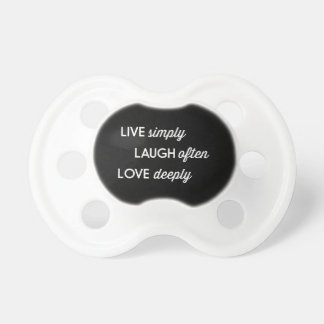 Live Simply, Laugh Often, Love Deeply Dummy