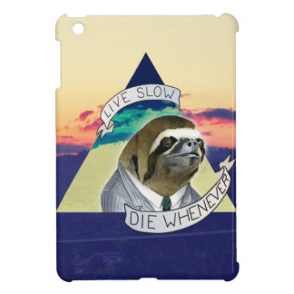 LIVE SLOW, DIE WHENEVER iPad MINI CASES