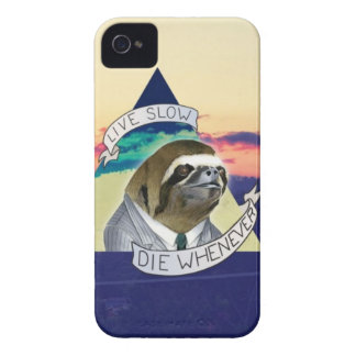Live Slow, Die Whenever iPhone 4 Case