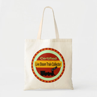 Live Steam Train Collector Tote Bag