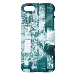 Live Streaming Content Entertainment with Audience iPhone 7 Case