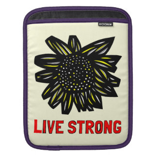 """Live Strong"" Ipad Soft Case iPad Sleeves"