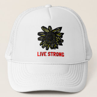 """Live Strong"" Trucker Hat"