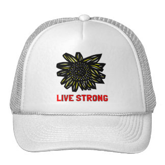 """""""Live Strong"""" Trucker Hat"""
