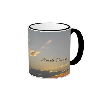 Live the Dream Ringer Mug