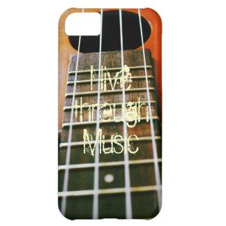 Live through Music iPhone 5C Case