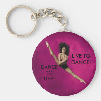 LIVE TO DANCE KEY RING