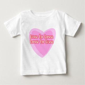 Live to Love Tee Shirts
