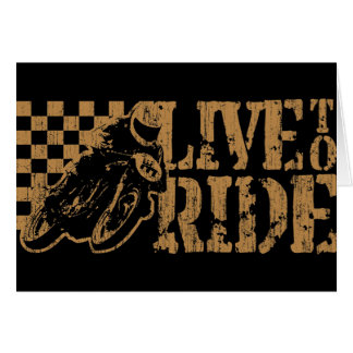 Live to Ride Card