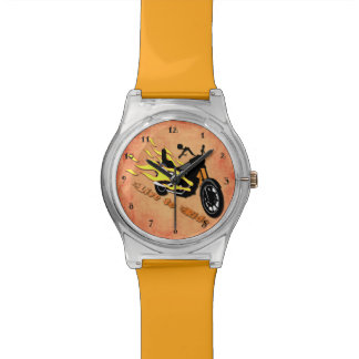 Live to Ride - Motorcycle Wrist Watch