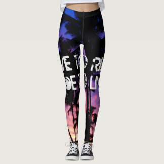 Live to Ride, Ride to Live Leggings