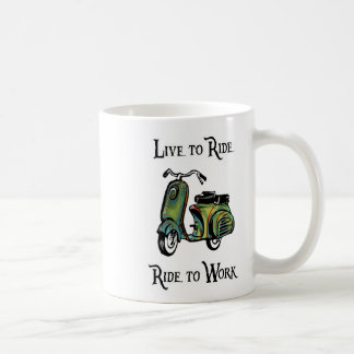 Live To Ride - Ride To Work Coffee Mugs