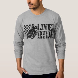 Live to Ride (v3 vintage) Tees