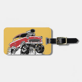 LIVE TO ROD! 55 Gasser Luggage Tag