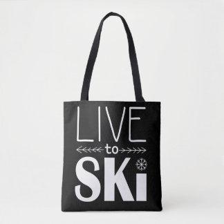 Live to Ski bag