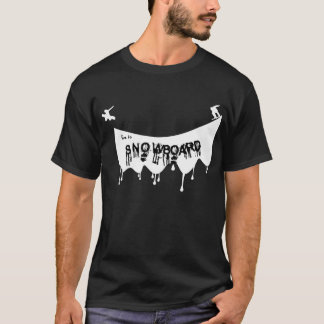 Live To Snowboard T-Shirt