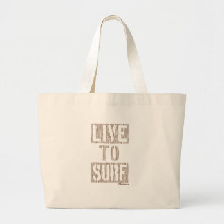 Live To Surf Grain Tote