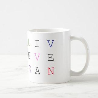 Live Vegan Mug