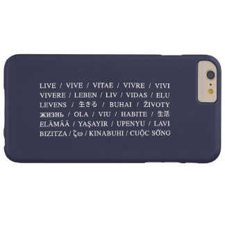 Live Vive - Daily Life Motivation Barely There iPhone 6 Plus Case