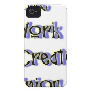live work create enjoy iPhone 4 Case-Mate case