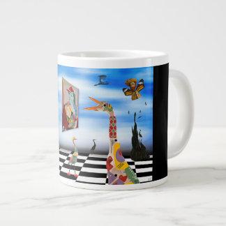 Live Your Art Large Coffee Mug