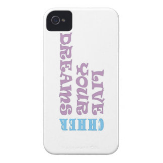 Live Your Cheer Dreams Case-Mate iPhone 4 Cases