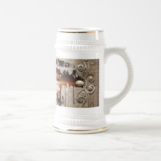 Live your life beer stein