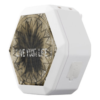Live your life white boombot rex bluetooth speaker