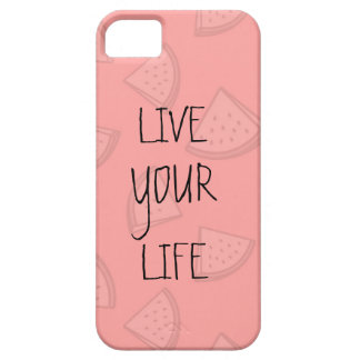 LIVE YOUR LIFE iPhone 5 CASE