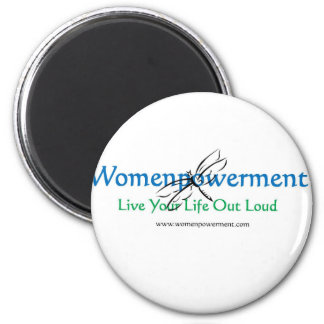Live Your Life Out Loud 6 Cm Round Magnet