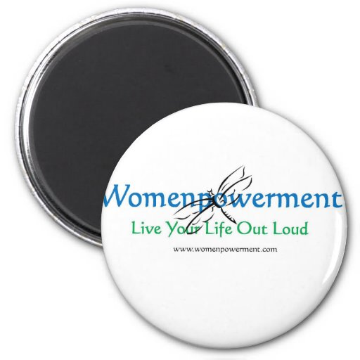 Live Your Life Out Loud Refrigerator Magnet
