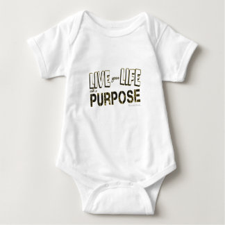 Live your Life with a Purpose Baby Bodysuit