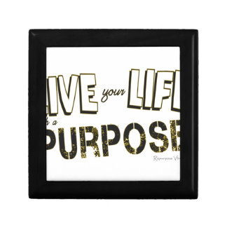 Live your Life with a Purpose Gift Box