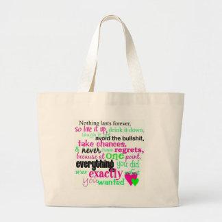 LiveitupDrinkitdown Bags