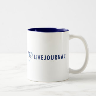 LiveJournal Logo Horizontal Two-Tone Mug