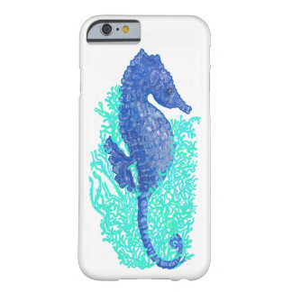 Lively Seahorse iPhone 6/6s, Barely There Case