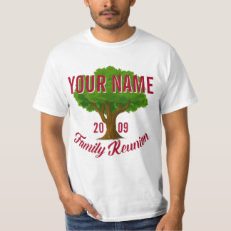 Lively Tree Personalised Family Reunion T-Shirt
