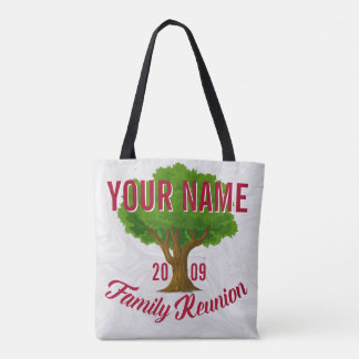 Lively Tree Personalised Family Reunion Tote Bag