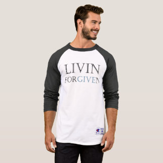 """Liven Forgiven"" Michael Crozz T-Shirt"