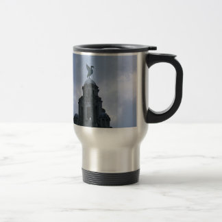 Liver Bird in Liverpool Travel Mug