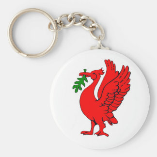 Liver bird key ring