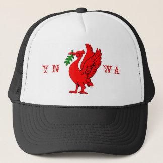 Liver bird trucker hat