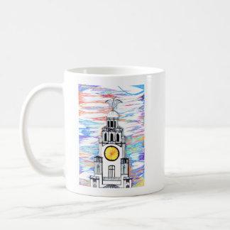 Liver Building Doodle Mug