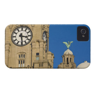Liver Building, Liverpool, Merseyside, England iPhone 4 Case-Mate Cases