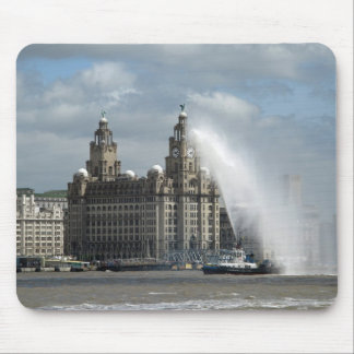 Liver Building Liverpool - Mousepad
