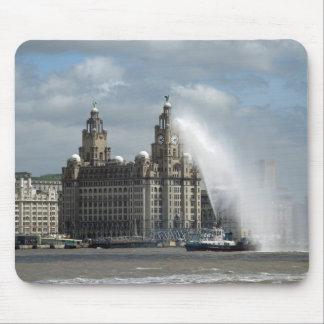 Liver Building Liverpool - Mousepad