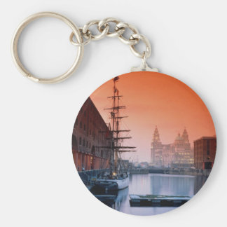 Liver buildings from Albert Dock Complex, Liverpoo Key Chains